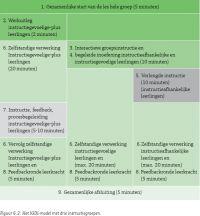 Het IGDI model in 3 niveaus
