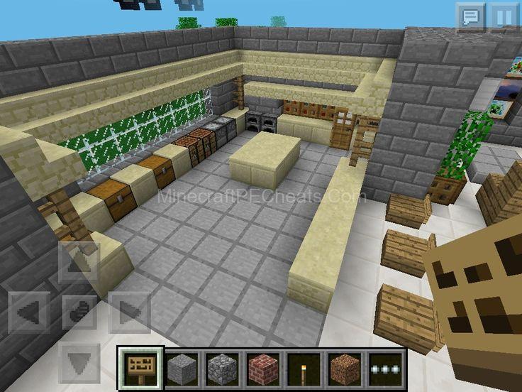 Kitchen design   Minecraft   Pinterest. Minecraft Kitchen Designs. Home Design Ideas