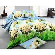 shuian®布団カバーセット、4ピーススーツの3D油絵の寝具は綿のプリント寝具のベッドリネンシー... – JPY ¥ 4,999