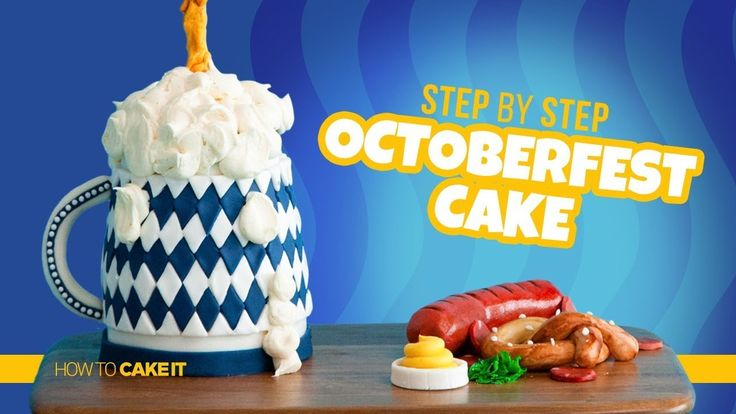 Wie erstelle ich einen GRAVITY DEFYING Oktoberfest Cake von Michelle Tim   Wie man … – cake how to cake it with yolanda