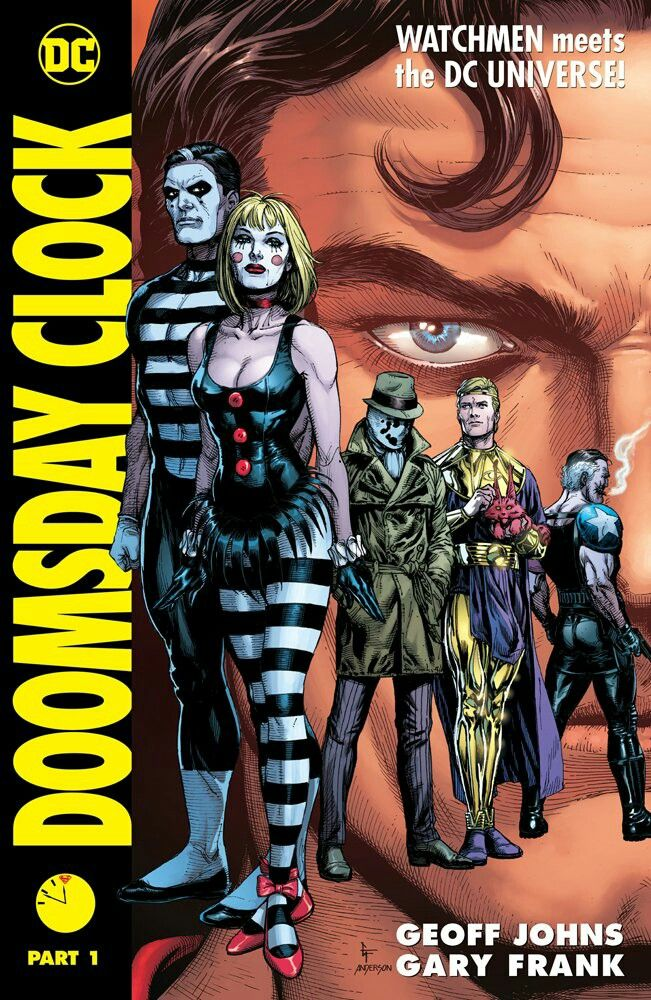 Doomsday Clock Volume 1 Hardcover Doomsday Clock Graphic Novel