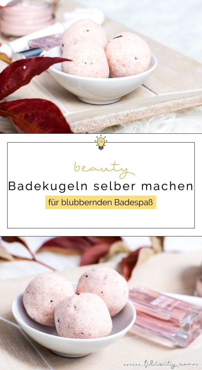 Beauty Diy Badebomben Selber Machen Diy Pinterest Diy