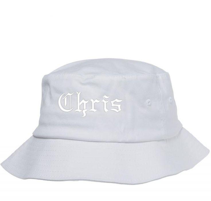 chris name Bucket Hat