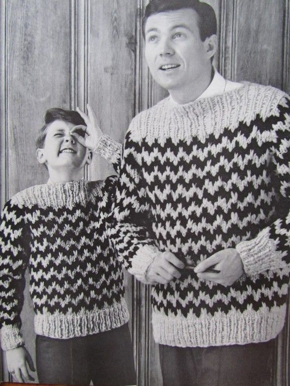 Men's and Boys' Sweater