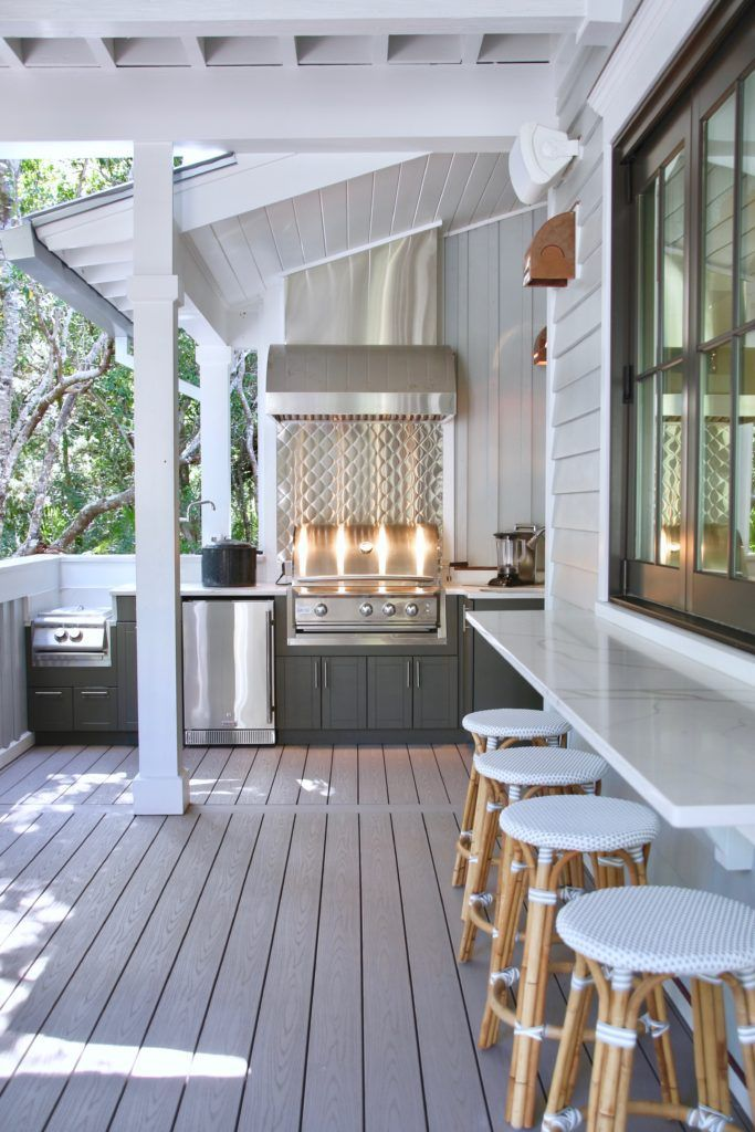 Outdoor Kitchen Ideas On A Budget Affordable Small And Diy Outdoor Kitchen Ideas Outdoor Kitchen Design Outdoor Cooking Area Pass Through Kitchen