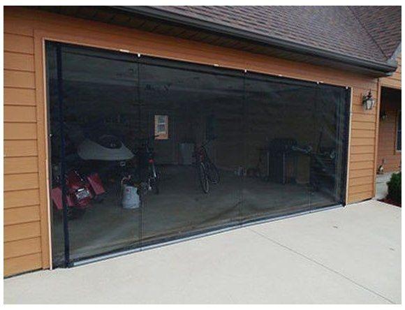 Zip Roll Brand 16x8garage Door Roll Up Screen Etsy Roll Up Garage Door Lock See New Installation Video On Our Website Www Zip Roll Com The Zip Roll Scre 2020
