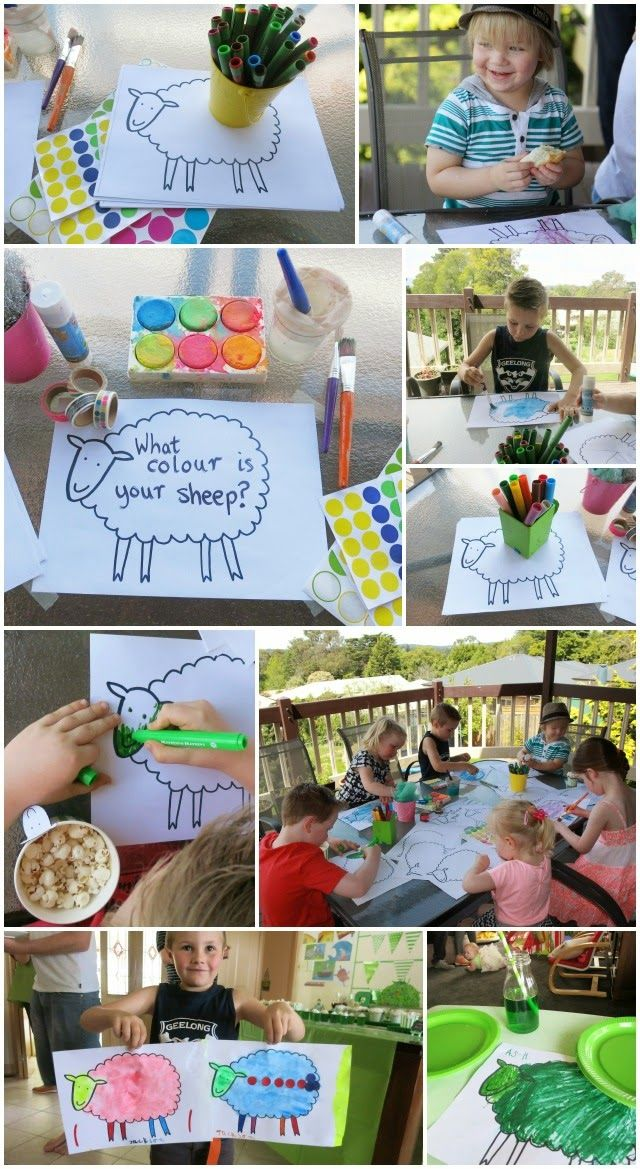 "Free printable ""Where is the Green Sheep?"" template. Use to make and decorate your own sheep after reading the book."