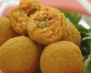 Arancinis à la sicilienne sans friture