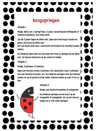 Stippelspelen - Juf Anke