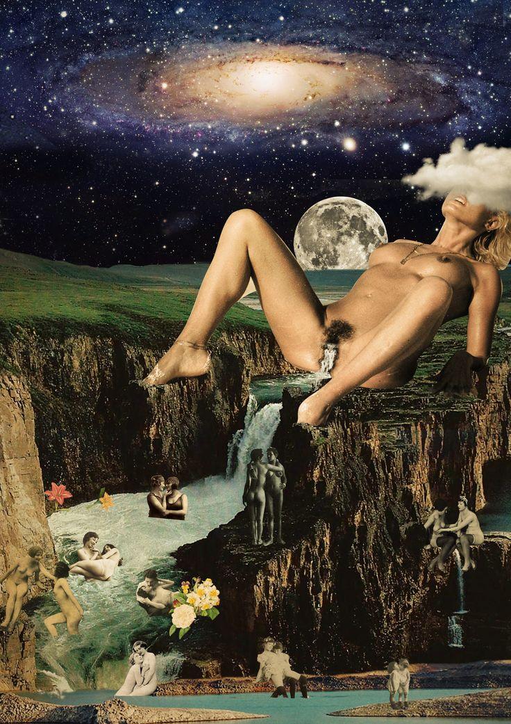 Aproveitem do dia de hoje, lembrem bastante da onde a gente veio, da nossa ancestralidade. Tire o dia pra celebrar seu corpo, pra se sentir melhor, saber onde toda a sua energia escorre... sentir todo o fluxo do seu corpo de como as águas que nele se encontram... e sempre lembrar aquela frase linda que é pra nosotras, brujas... mulheres são como as águas, crescem quando se juntam. A Lua é nova em Escorpião. Todo prazer é pouco. Esse trabalho foi feito em 2015. Foi dedicado ao meu amor.