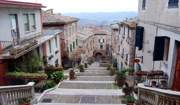 Top 10 places to downshift to Italy - Corinaldo, Marche