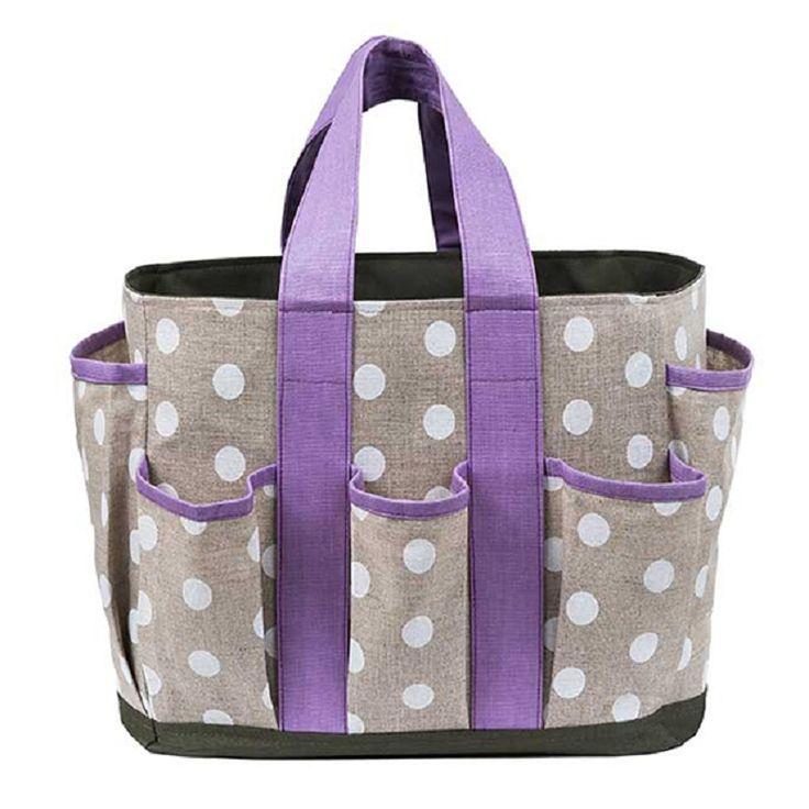 tas voor tuin en boodschappen , kleur Violetta , te koop bij www.gretties.clickshop.be