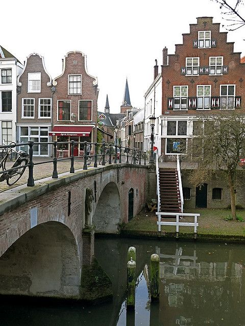 Just around the corner of my little hous in Utrecht: Geertebrug, Utrecht, Netherlands