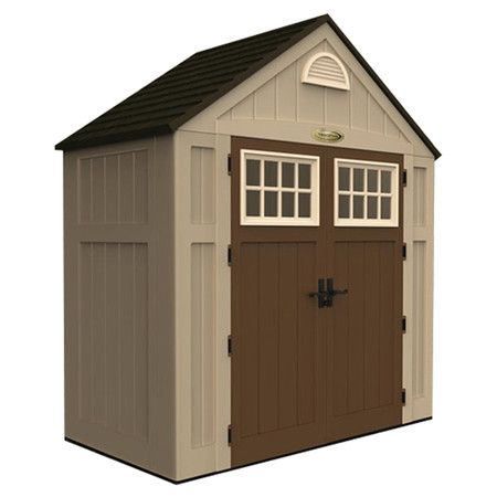 You should see this Suncast Storage Shed in Sand & Chocolate on Daily Sales!