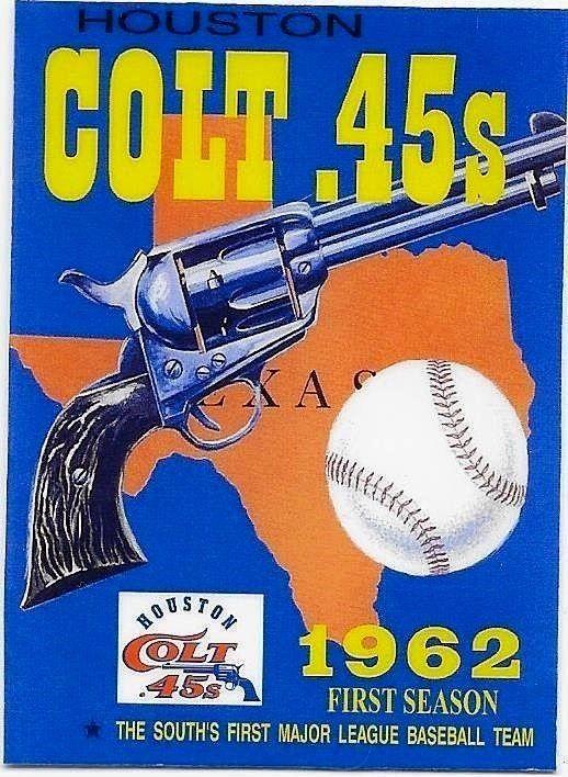 23dbbf30e0f NEW LISTING !! THE 1962 HOUSTON COLT 45s