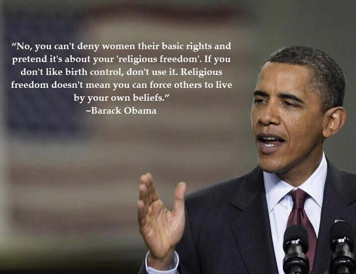 If you don't like birth control, don't use it. But don't deny it for those who want it.