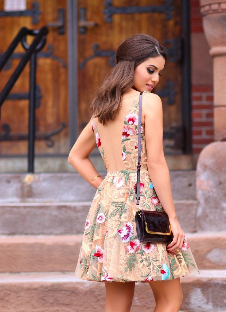 camila coelho in alfreda dress for summer wedding party