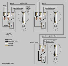 Best 25 electrical switch wiring ideas on pinterest 3 way multiple light switch wiring diagram asfbconference2016 Image collections