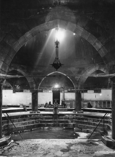 Rudas gyógyfürdő, termál medence- 1940