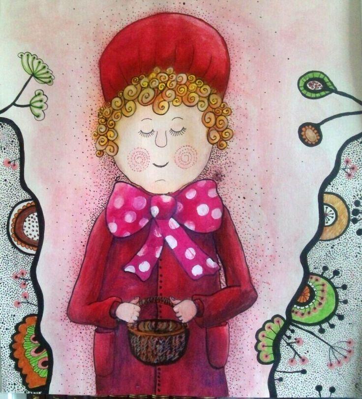 Czerwony Kapturek | Little Red Riding Hood  | ©Katarzyna Krasowska