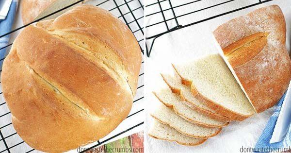 Tento domáci chlieb zvládne upiecť úplne každý, ale to nie je jeho jedinou silnou stránkou. Bochník zvonku zlatistý a chrumkavý, zvnútra mäkký a jemný