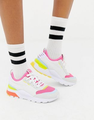 f9a97ca8a45 Puma Rs-0 Winter Toys white  trainers  pumawomen  asos
