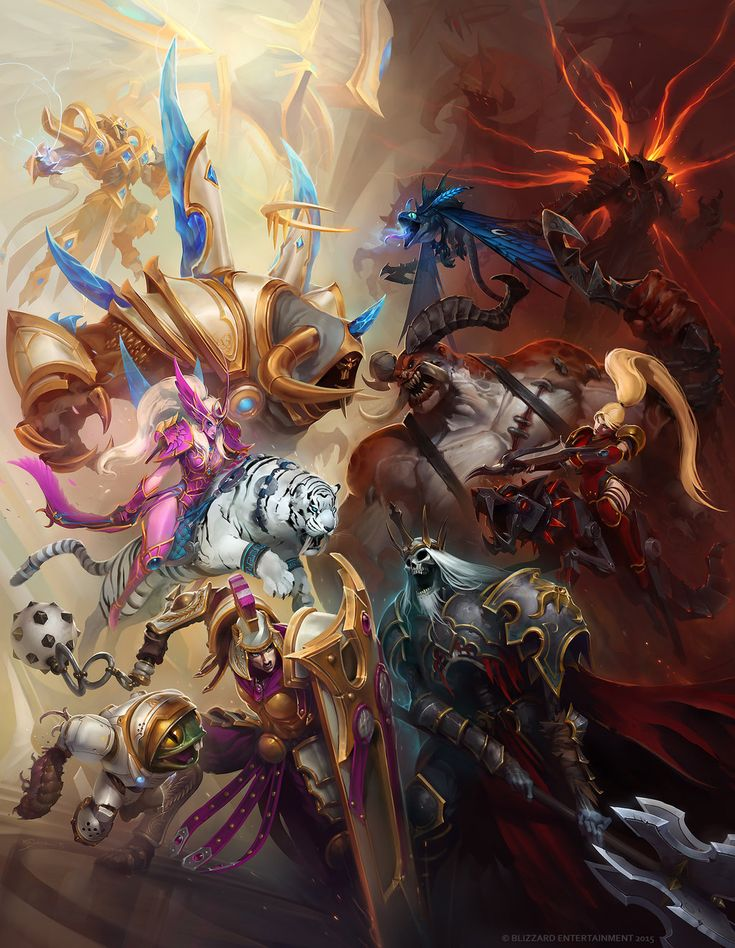 Eternal Conflict by Mr--Jack heroes of the storm