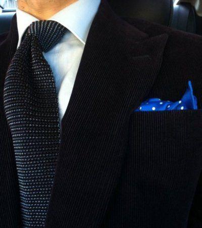 nice tie & chief