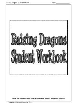 Worksheets to supplement Raising Dragons as published in Houghton Mifflin Reading 3.1.Included are: two vocabulary activities which focus on using a combination of dictionary skills and context clues, a getting the details activity, ten comprehension questions with a focus on higher level thinking activities, a cause & effect activity, a drawing conclusions activity and a vocabulary crossword puzzle. (12 pages of activities)An answer key is included.The preview includes all the pages so…
