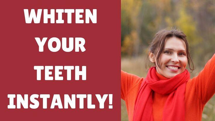 INSTANT Teeth Whitening: 3 Teeth Whitening Hacks That Work