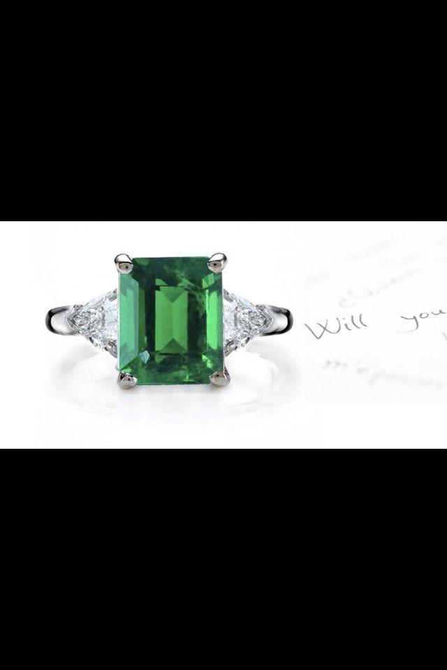 Beautiful green ring