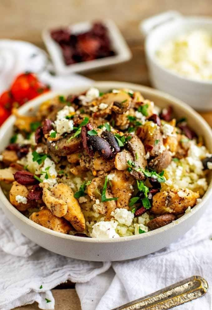 Keto Instant Pot Chicken and Mushrooms - Slow Cooker ...