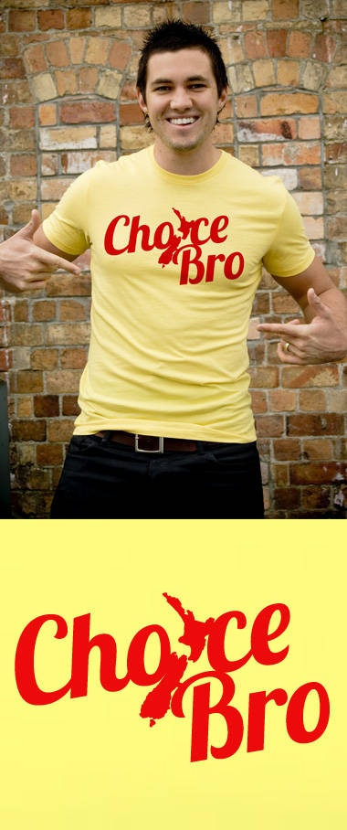 """Mr Vintage Kiwiana T-Shirts, choice! (""""Choice"""" is an expression of happy affirmation.)"""