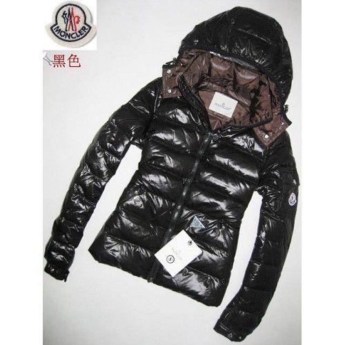 Moncler Women Jackets In Black