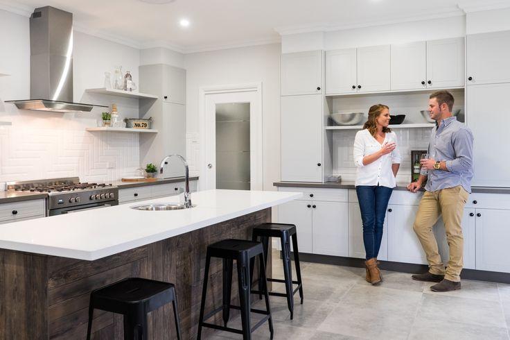 The stunning open plan kitchen at the Gunnedah Display