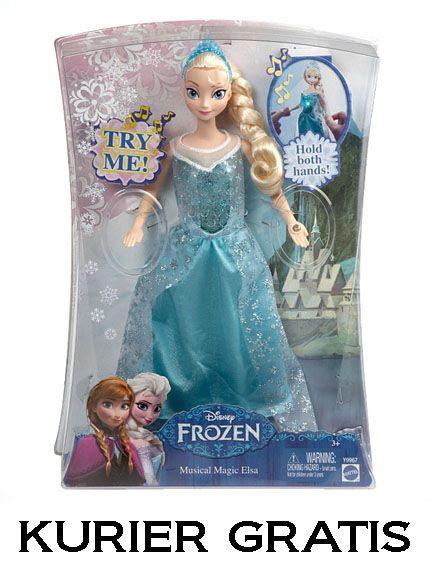Kraina Lodu Frozen Elsa lalka Mattel Y9967 w 24hr