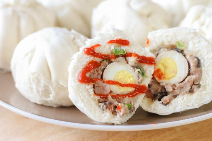 How to make Vietnamese Steamed Pork Buns (Banh Bao)