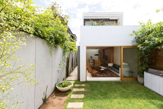 modern exterior by Fearns Studio