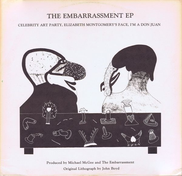 The Embarrassment The Embarrassment Ep Vinyl Ep 12 45 Rpm Discogs Embarrassing Celebrity Art Things To Sell