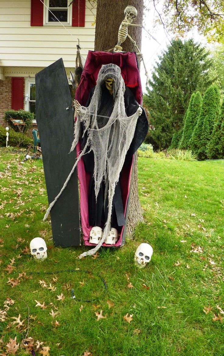 25 amazing halloween exterior decorations ideas - Amazing Halloween Decorations