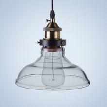 Shadelamp Cristal De la vendimia Decoración de la Lámpara Colgante Accesorio de Iluminación Hogar Retro Industrial Luces Pendientes 110 v 220 Edison E27 Bombilla(China (Mainland))