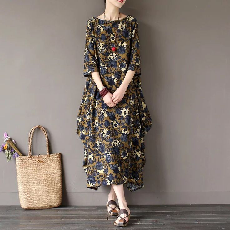 Big flower maxisize plus size dress 6.13 new arrival free shipping one day