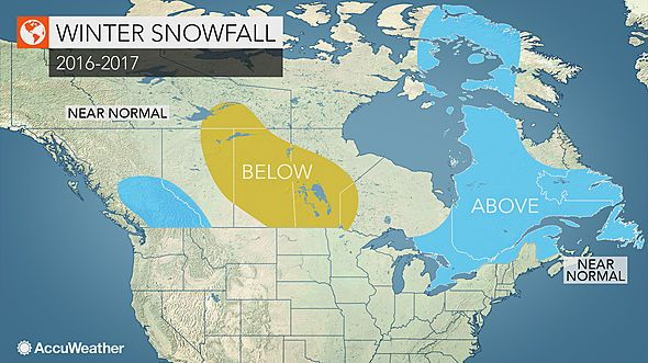 The 2016/2017 winter forecast for Canada - Canadian Weather Blog Weather Blog