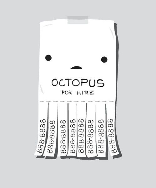 Octopus for hire