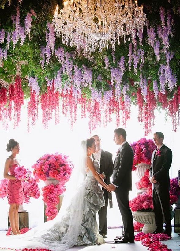 Wedding Flowers, Wedding Decorations, Bouquets, Summer Flowers, Summer Weddings || Colin Cowie Weddings