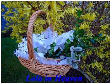 Wielkanocne życzenia skąpane w deszczu