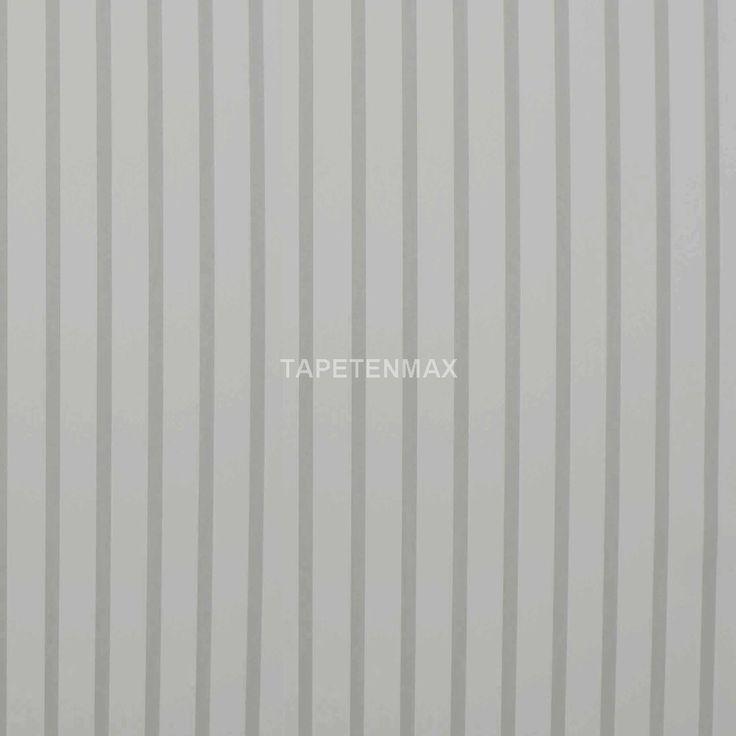 71629 Manekin - Marburg weiße Streifentapete für das Kinderzimmer. Gestalten Sie das Zimmer der Kleinen einfach neu mit diesen Vliestapeten.