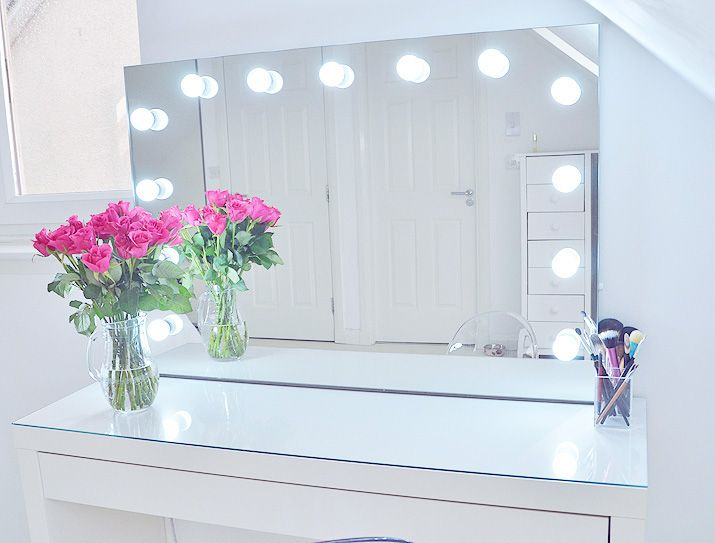 pinterest hollywood mirror lights mirror vanity and lighted mirror. Black Bedroom Furniture Sets. Home Design Ideas