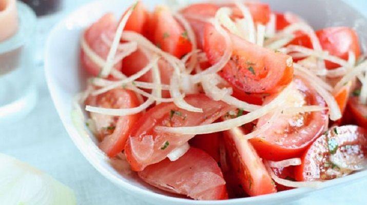 Самый лучший салат из помидоров
