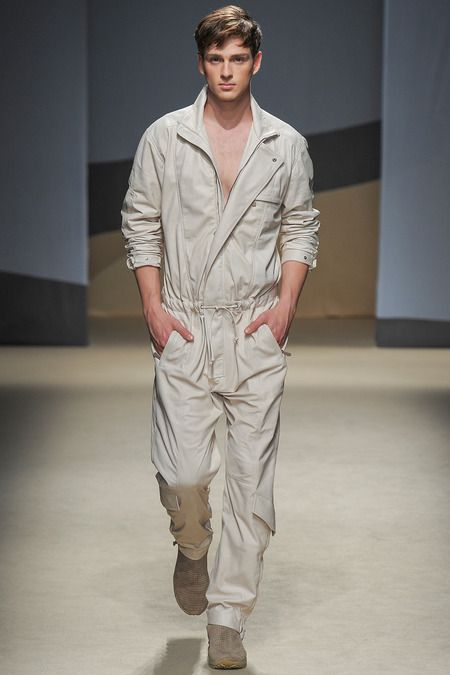 Trussardi Spring 2014 Menswear Collection Slideshow on Style.com